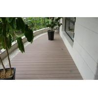 Buy cheap Natural Waterproof Composite Decking For Balcony / Anti - Slip Deck Flooring Tiles from wholesalers