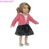 Buy cheap Hot sale custom lol little girl doll 18 inch toy handmade cloth vinyl dolls from wholesalers