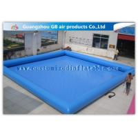 Buy cheap Summer Party Inflatable Family Swimming Pool, Large Portable Swimming Pool For Rent product