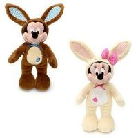 Buy cheap Customized Stuffed Animals Easter Mickey Mouse Bunny Plush Toys in Brown / Off white from wholesalers