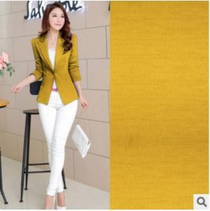 Weft Dyeing Women Elasticity Acrylic Knitting Spot fashion suit fabrics