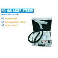 Buy cheap Painless Portable Q Switched Nd Yag Laser Tattoo Removal Permanent Safety Treatment from wholesalers