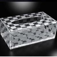 Buy cheap Customized Acrylic Tissue Box,Tissue Box Cover from wholesalers