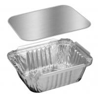 Buy cheap Hotel Silver Aluminum / Aluminium Containers For Food Takeaway Packaging from wholesalers