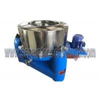 Buy cheap 3 Column PTDM Manual Top Discharge Intermittent Pharmaceutical Centrifuge With Clamshell from wholesalers