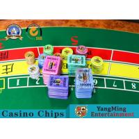 Buy cheap Manufacturer Custom RFID Chip Poker Club VIP Clay Texas Chip Independent Identification ID Number product