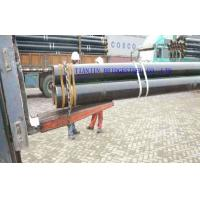 Buy cheap Large Diameter SMLS Carbon Steel Seamless Pipe With Black Varnish Coating from wholesalers