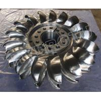 Buy cheap Pelton Wheel / Turbine Runner with Forge  CNC Machine for Power 2MW - 20MW product