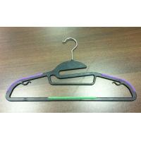 Buy cheap Ultra thin plastic hanger,42cm * 23.5cm * 0.5cm , red,green color,ABS plastic from wholesalers