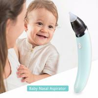 Buy cheap Electric Automatic Nose Cleaner,Baby Nasal Aspirator,2 Sizes of Silicone Tips from wholesalers