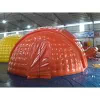 Buy cheap Water Proof 6m Diameter PVC Tarpaulin Inflatable Camping Tent With EN14960 product