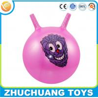 Buy cheap cheap plastic inflatable toy handle ball from wholesalers