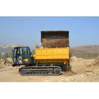 Buy cheap 12 Ton Crawler Dump Truck Tracked Carrier For Mud Road , Swamp , Snow Slopes from wholesalers