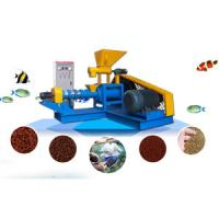 Buy cheap 450kg/h Fish Feed Extruder Machine for Floating or Sinking Fish Feed Project from wholesalers