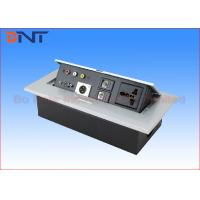 Buy cheap Desk Pop Up Sockets For Audio Video Solution , Silver Desk Plug Sockets from wholesalers