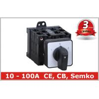 Buy cheap Electrical 5 Position Selector Switch Push Button , Industrial Rotary Disconnect Switch from wholesalers