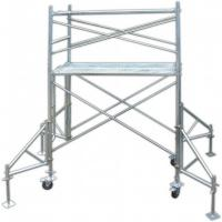 Buy cheap Industrial Q235 Door Tubular Steel Frame Scaffolding Temporary Heavy Load Capacity from wholesalers