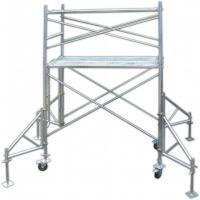 Industrial Q235 Door Tubular Steel Frame Scaffolding Temporary Heavy Load Capacity