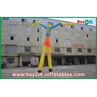 Buy cheap 7m High Heavy Duty Inflatable Air Dancer Man With Custom Logo For Promotion from wholesalers