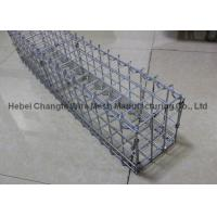 Buy cheap Prefabricated Gabion Rock Wall Cages For Bridge Protection , Hot Dipped Galvanized Wall Baske from wholesalers