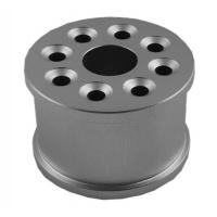Buy cheap High Standard CNC Precision Turned Components Drilling Process Natural Color from wholesalers