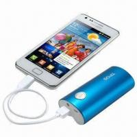 Buy cheap 5,200mAh Portable External Battery for Samsung Galaxy, HTC, iPhone and BlackBerry from wholesalers