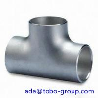 Buy cheap 316 & 316L Stainless Steel Tee / Butt welding fittings 1/2 - 72 inch product