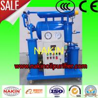 Buy cheap High Efficiency  Transformer Oil Purifier , Single Stage Insulating Oil Filtration Machine from wholesalers