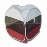 Buy cheap Pop-up Dog Tent/Kennel/Pet Tent, Measuring 46 x 46 x 50cm, Made of 420D Oxford and Strong Mesh from wholesalers