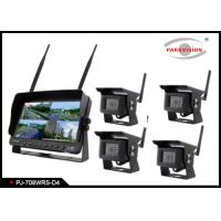 Buy cheap Wireless  Heavy Duty Truck 7 Inch Rearview Mirror Monitor And DVR System product