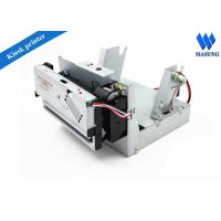 Buy cheap Low Noise Receipt Kiosk Thermal Printer For Inquiry Machine , Thermal Ticket Printer from Wholesalers
