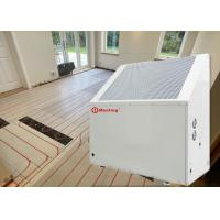 Buy cheap 12KW White Galvanized Sheet ≤40Db Air To Water Heat Pump With Floor Pipes Heating System from wholesalers