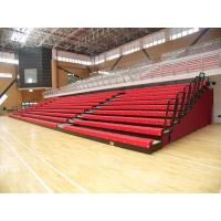 Buy cheap Aluminum Collapsible Bleachers Seating Firepoof For School Sports High Load Capacity from wholesalers