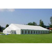 Buy cheap Water Resistant Small Aluminum Frame Tent , 12m Transparent Wedding Tent product