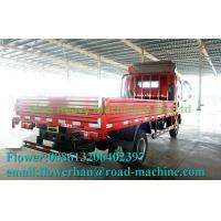 Buy cheap Flatbed Truck Red Light Duty Commercial Truck Air Brake 5480X2000X2450mm from wholesalers
