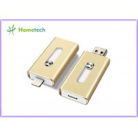 Buy cheap Aluminum Alloy Compact 8GB USB Disk iflash Drive Mobile Phone OTG For PC from wholesalers