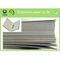 Buy cheap 300gsm - 3000gsm Light Grey Cardstock , Solid Laminated Grey Board Paper from wholesalers