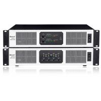 Buy cheap 2U two channel 4 channel Light weight 400W 1200W SMPS power amplifier from wholesalers