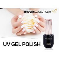 Pure Color Uv Nails Gel Polish , No Hit No Burn Gel Uv Nail Polish No Smudging