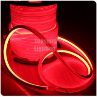 Buy cheap hot sales long life 24v red color square led neon flex rope light ip67 from wholesalers