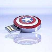 Buy cheap New Design Low Price USB Avengers, the Iron Man Metal USB Flash Drive from wholesalers