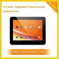 9.7 Inch Android 4.0.3 IPS Screen 1GB RAM 8GB Dual Camera 2160P