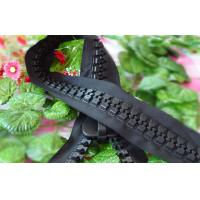 Buy cheap 30# Plastic Giant Roll Oversize Resin Zipper For Hat With Strong Zip Teeth from wholesalers