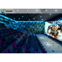 Buy cheap Breathtaking Amusement 4D  Cinema Seats With Cost-effective Motion Seats product