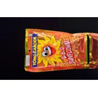 Buy cheap Metallized Stand Up Pouches Yellow For Candy / Chips Packaging from wholesalers