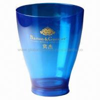 Buy cheap Direct sell by factory ice bucket, low price, 20.8x14x21cm for promotions, material PS + ABS from wholesalers