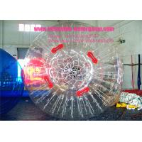 Buy cheap Included CE Pump 10ft 1.0MM Hire Zorb Balls , Inflatable Hamster Ball For Adults / Kids from wholesalers