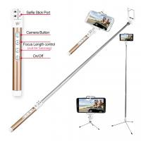 Buy cheap Multi Camera Mode Retractable Zooming Monopod Bluetooth Selfie Stick with Tripod from wholesalers