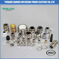 Buy cheap Hot sales China Waterproof M,PG,G,NPT brass nickel planted,stainless steel 304/316L cable glands IP68 with CE from wholesalers