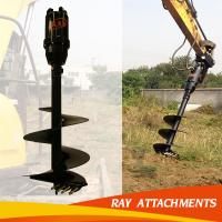 Buy cheap Big power earth auger,Ground hole drill,post hole auger drill from wholesalers